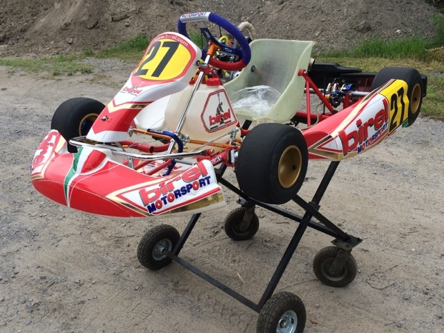 2 birel race go karts for sale waterloo regional kart club for Motor go kart for sale